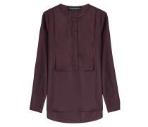 Bluse aus Jersey-Stretch
