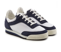Sneakers Spalwart aus Veloursleder und Mesh