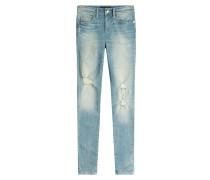 Skinny Jeans im Used-Look
