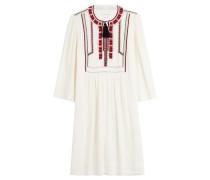 Besticktes Kleid mit Quasten