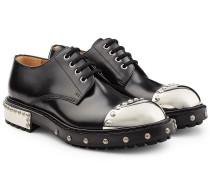 Verzierte Schnürschuhe aus Kalbsleder