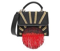Handtasche aus Satin mit Décor