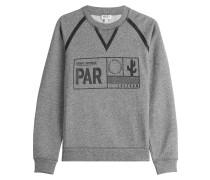 Statement-Sweater aus Baumwolle