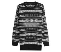 Cut-Out-Pullover mit Wolle und Kaschmir