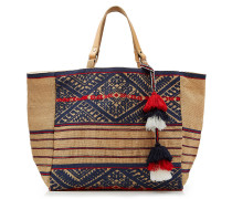Jute-Shopper Lexa mit Stickerei