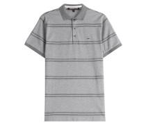 Gestreiftes Polo-Shirt aus Baumwolle
