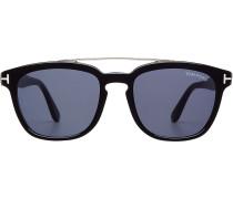 Sonnenbrille mit Metallakzent