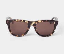 Sonnenbrille im Animal-Look