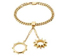 Armband mit Ringen als Anhänger