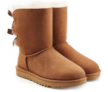 Boots Bailey Bow aus Veloursleder