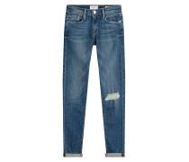 Slim-Jeans mit Used-Effekt