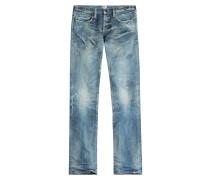 Straight-Leg-Jeans Woven Denim aus Baumwolle