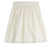 Flared-Skirt aus Häkelspitze