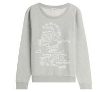 Print-Sweatshirt aus Baumwolle
