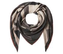 Bedruckter Schal aus Kaschmir und Seide