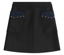 Minirock mit Patchwork-Taschen samt Nieten