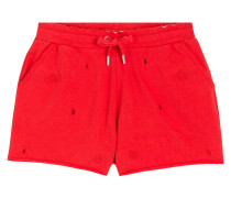 Sommershorts im Distressed-Look