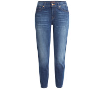 Slouchy Jeans aus Baumwoll-Stretch
