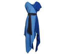 Asymmetrisches Kleid aus Seide