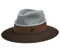 Fedora-Hut aus gefilztem Kaninchenfell