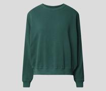 Unifarbenes Sweatshirt