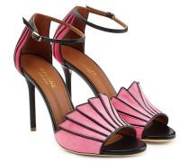 Sandalen aus Leder mit Stiletto-Heel