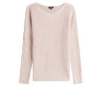 Oversize-Pullover mit Kaschmir und Seide