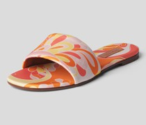 Slides mit Allover-Muster