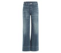 Wide Leg Jeans aus Baumwolle