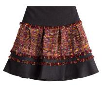Bestickter Mini-Skirt 'Keely' mit Fransen