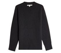 Gerippter Pullover aus Kaschmir und Wolle