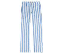 Gestreifte Cropped Pants Lord Jim