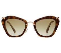 Sonnenbrille Noir in Schildpatt-Optik