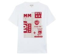 Print-Shirt aus Baumwolle