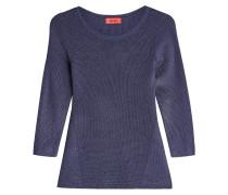 Leicht ausgestellter Pullover mit Baumwolle