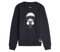 Verziertes Sweatshirt Karlito aus Wolle und Baumwolle