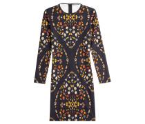 Etui-Dress aus Jersey mit Print