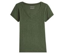 V-Shirt aus Baumwolle