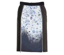 Ilex Skirt in White Flower