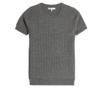 Strick-Top aus Wolle