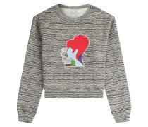 Baumwoll-Sweater mit Print