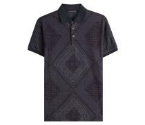 Polo-Shirt aus Baumwolle mit Print