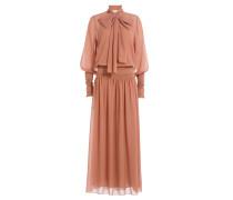 Maxi Dress mit Schluppe