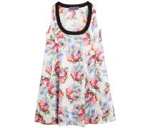 Flared-Dress aus Seidentwill
