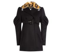 Kurzer Mantel aus Schurwolle