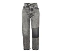 Straight Leg Jeans Komo aus Baumwolle