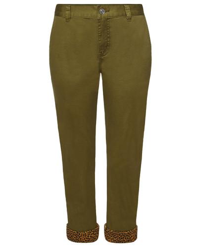 Cropped Pants The Confidant aus Baumwolle