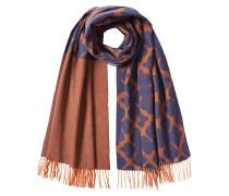 Gemusterter Schal aus Wolle