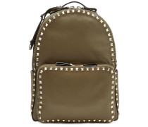 Backpack Rockstud Medium aus Leder