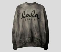 Sweatshirt im Batik-Look